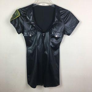 Leg Avenue black sexy cop costume S/M